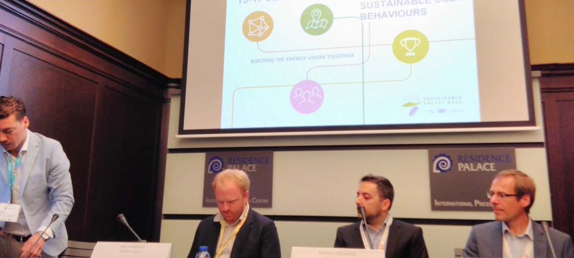 Synelixis participation at the EU Sustainable Energy Week 2016