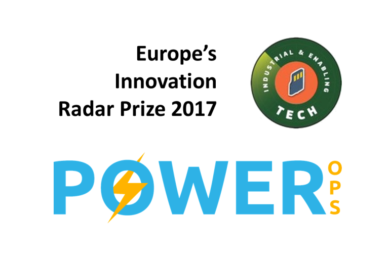 Power-Ops finalist in 'Industrial & Enabling Tech' prize