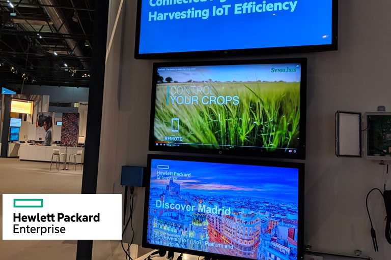 SynField at HPE Discover 2017, Madrid, Spain