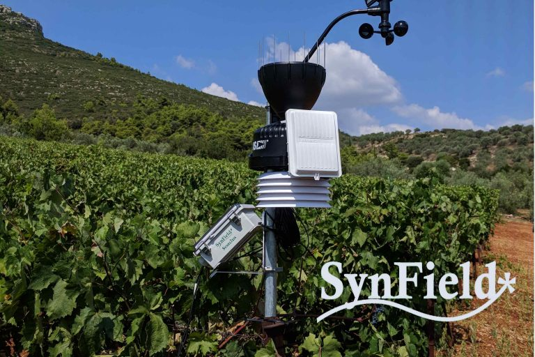 New SynField installation in Nemea (Greece)