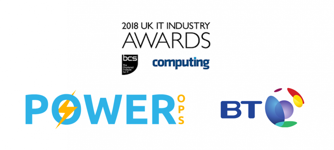 Power-Ops shortlisted in the UK IT Industry Awards 2019