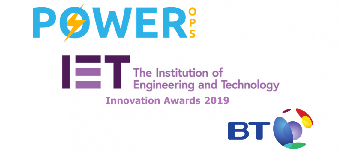 Power-Ops in the ΙΕΤ Innovation Awards 2019 Shortlist