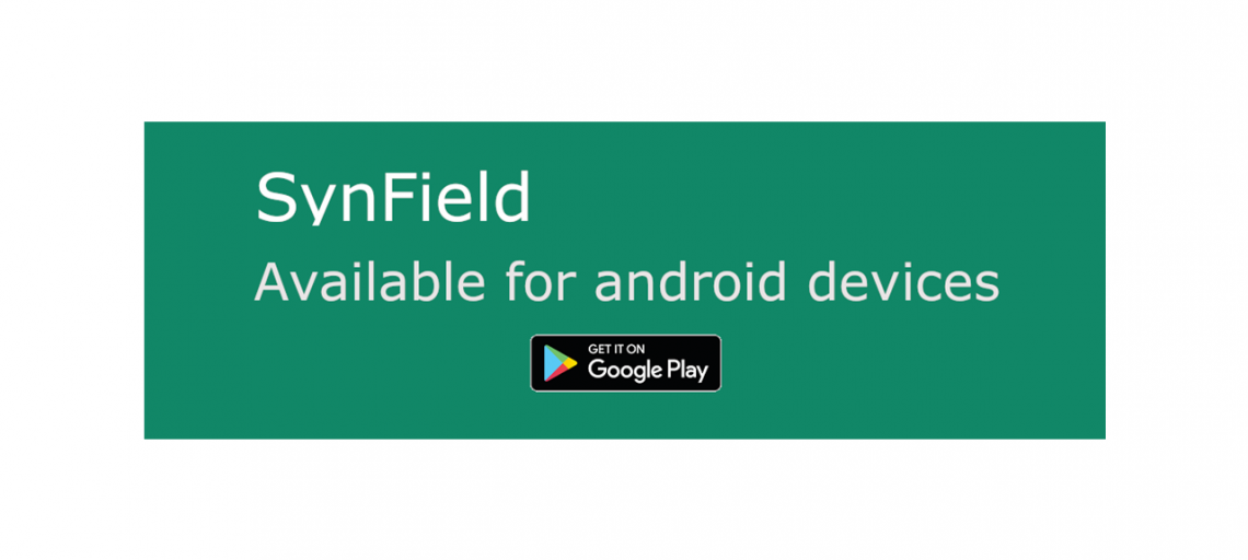 Manage your crop through the SynField android application