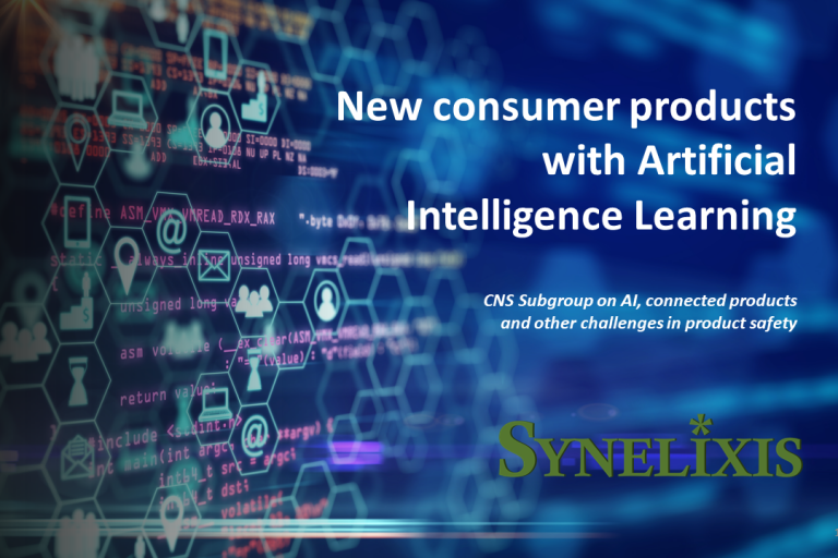 Sub-group on Artifical Intelligence, Connected Products and other new challenges in Product Safety