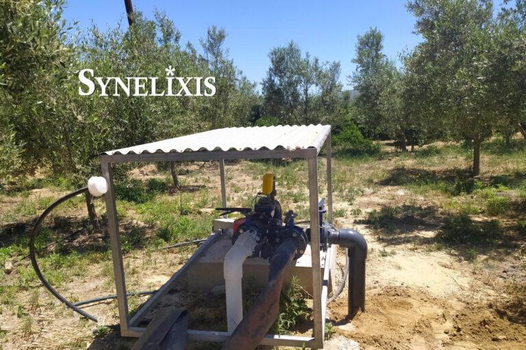 New SynField installation at Elea, Lakonia